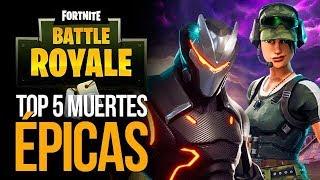 Top 5 MUERTES ÉPICAS en FORTNITE - Semana 2 Mayo 2018 | MERISTATION