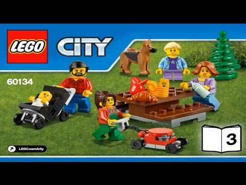 LEGO City Town 2016 FUN IN THE PARK - CITY PEOPLE PACK 60134 - Лего ...