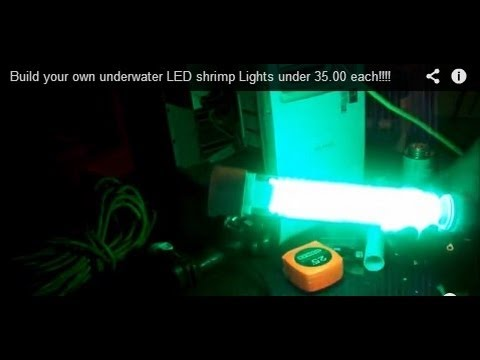 build your own underwater led shrimp lights under 35.00 each, Reel Combo