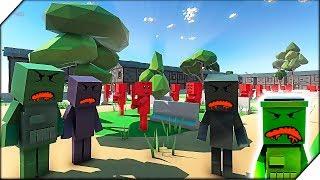 ЗОМБИ ПРИШЛИ В ШКОЛУ 2 - Игра Ancient Warfare 3. Приключения зомби, игра как зомби мультик