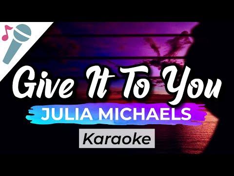 Julia Michaels - Give It To You - Songland 2020 - Karaoke Instrumental (Acoustic)