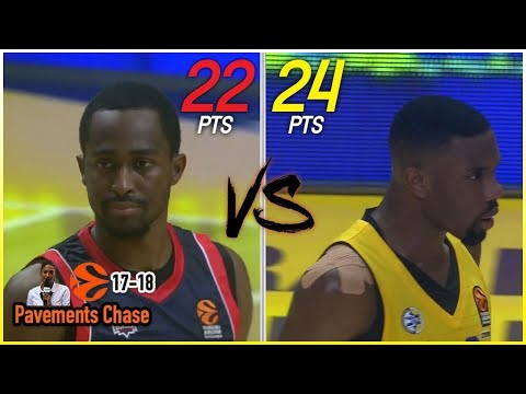 Rodrigue Beaubois vs Norris Cole Full Duel Highlights (19.10.17) SICK HANDLES! 🔥🔥🔥 [1080p]