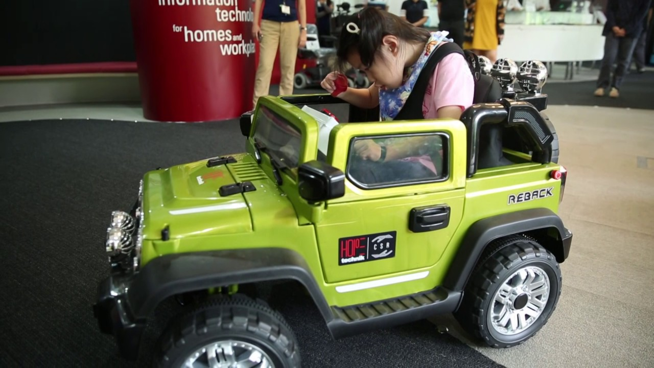 Coming Kids Jip.A Modified Ride On Toy Jeep To Help A Special Needs Child Learn To Drive
