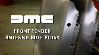 Fender Antenna Hole Plug--DeLorean Motor Company