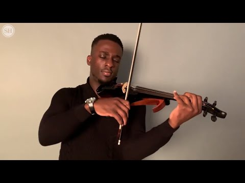 From the Bayou View Middle School strings program to NBA events: Meet Bruce the Violinist