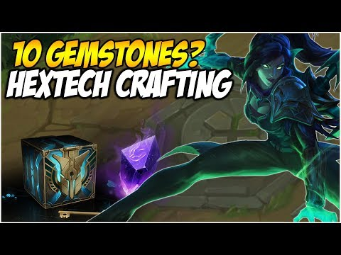 10 Gemstones on Unranked to Diamond Account? Classic Hexloot | League of Legends thumbnail