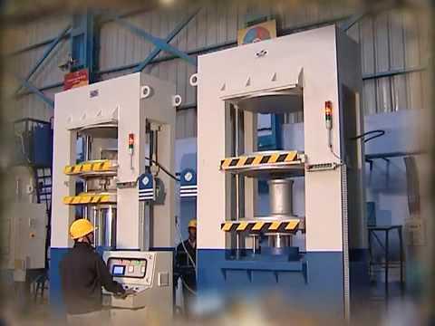 Industrial Hydraulic Press Large Platens Hydraulic
