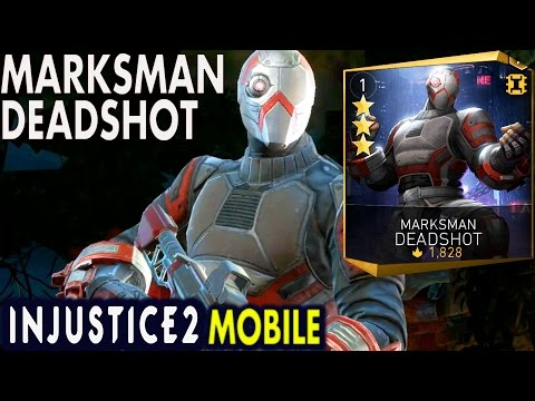 Injustice 2 Mobile: MARKSMAN DEADSHOT. Super move | Gameplay | Review. Android/IOS