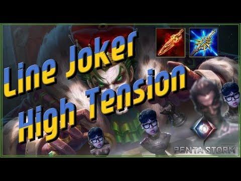 【傳說對決 펜타스톰 Joker Lane 라인 조커】 궁버프이후 이거로 영웅찍었습니다 ㄹㅇ킹갓 #Rov#Liên Quân Mobile#Aov#精華教學