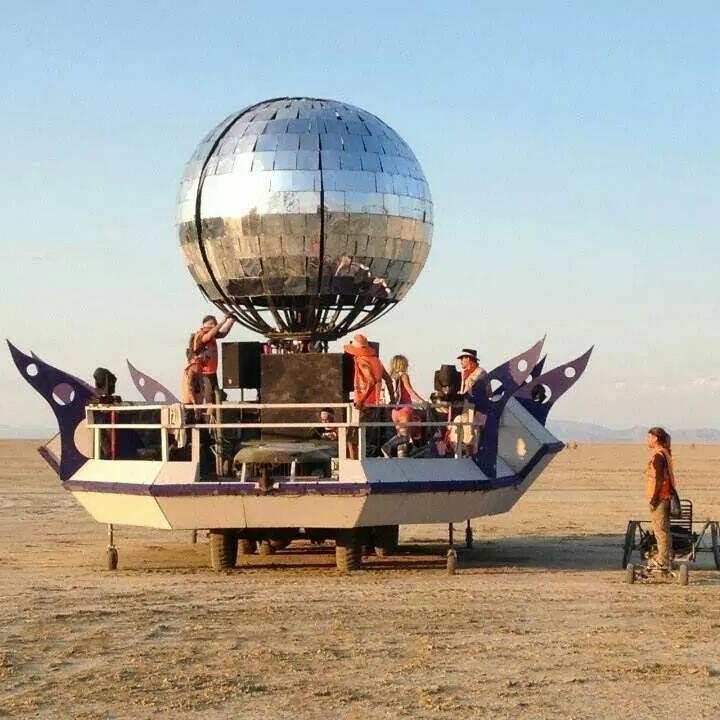 Diskopella Mutant Vehicle Burning Man 2014 Youtube