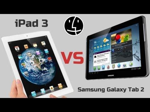 IPad 3 против Samsung Galaxy Tab 2 10.1 - Кто лучше? Сравнение!
