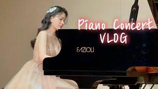 [VLOG] 연주회 브이로그 | 피아노연주회