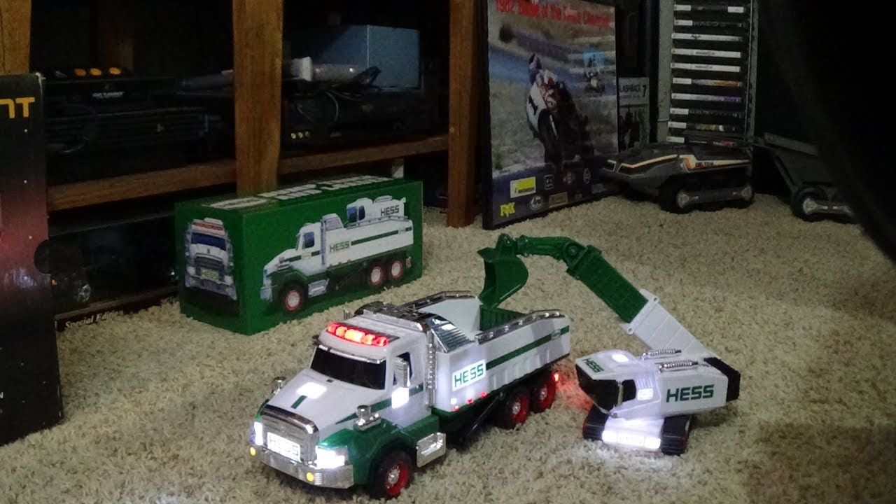 epic 2017 hess truck unboxing youtube