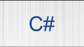 1.Introduction to Programming in C#
