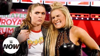 Rousey lends helping hand to Natalya, targets Mickie's arm: WWE Now