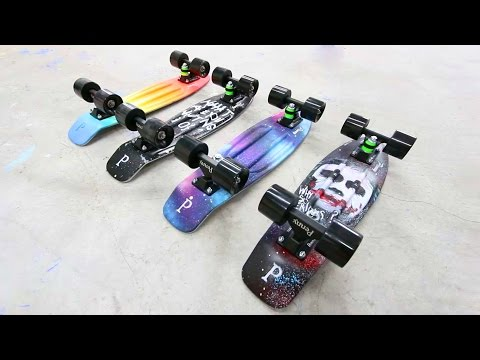 Penny Skateboard Customisation