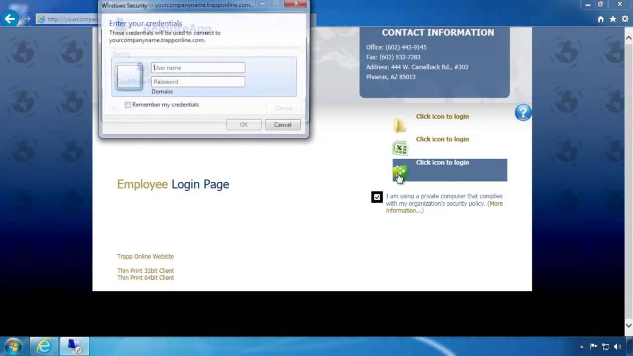 Trapp Technology Login: Windows Troubleshooting
