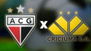 Atlético Go 3 x 2 Criciúma melhores momentos campeonato brasileiro Série B Rodada 1