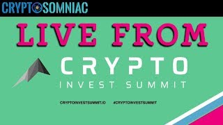 Decentralized vs Centralized Exchange panel @ Crypto Invest Summit