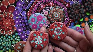 Easy Beginners Dot Art Mandala Design | DottingTools | Art Therapy | DIY Jewelry | Jasvir Kambo