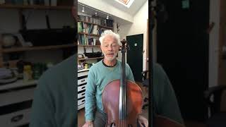 Cello with Timothy Kraemer - Bow Down O Belinda for beginners