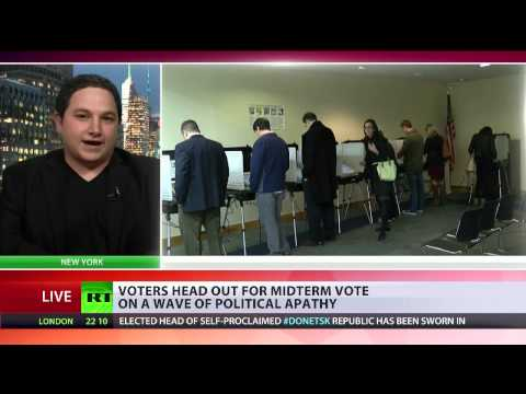 Geopolitical analyst Eric Draitser interview with RT International on U.S. Midterm Elections