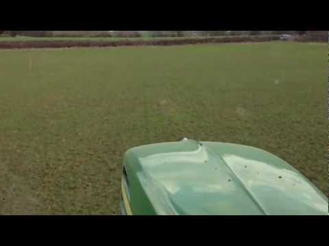 Varying the Fertiliser Rate Using GPS Technology