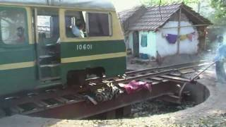 2010 Narrow gauge train between Bardhaman and Katwa