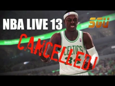 NBA Live 13...Dead! (Game Cancelled)