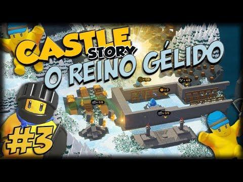 O REINO GÉLIDO DO CASTLE STORY - Ep 3 - Primeiras Torres, Besteiros e Wards!!