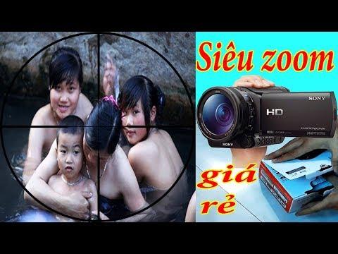 Đập Hộp Máy Quay Phim Siêu Zoom SONY HDR CX405 Chính Hãng Giá Rẻ Làm Youtube