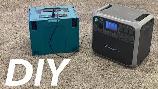 Huge Booster Battery Pack for your Bluetti or Ecoflow Solar Generator
