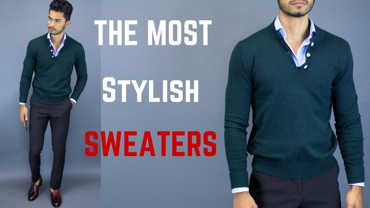 The MOST STYLISH Sweaters for Men  31187d335