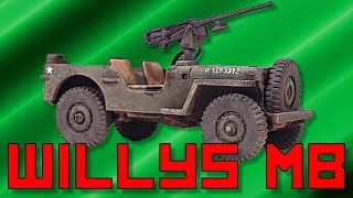 Painting Rubicon Willys Jeep [28mm]