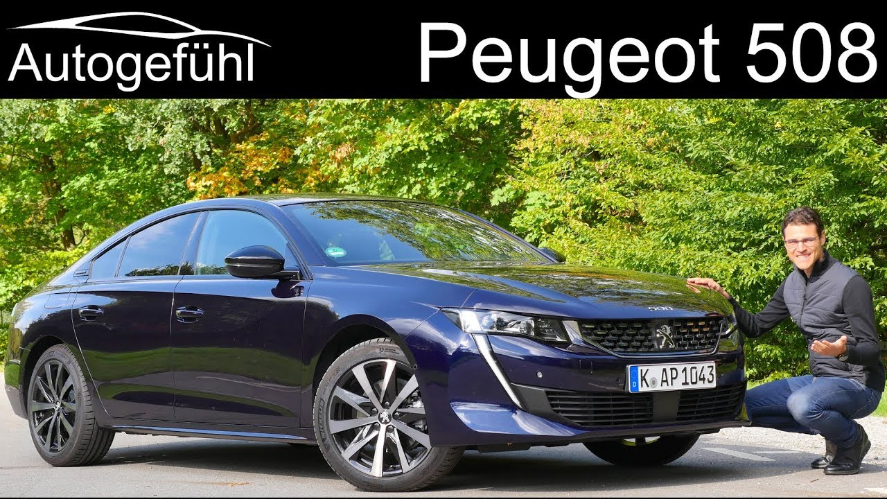 All New Peugeot 508 Full Review Gt Line 2019 Autogefuhl Youtube