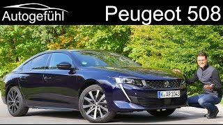 All-new Peugeot 508 FULL REVIEW GT-Line 2019 - Autogefühl
