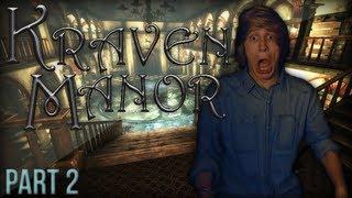 HEFTIGE SCHRIK ACTIE! - Kraven Manor (Horror Indie Game) - Part 2