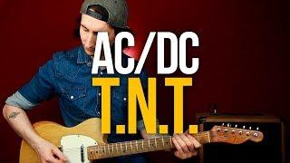 Как играть AC/DC T.N.T. на гитаре [идеальная песня для начинающих]