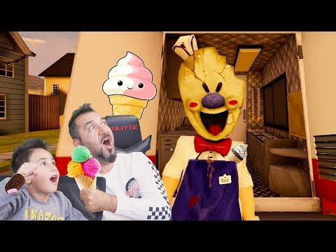 GİZEMLİ DONDURMACI BİZİ YAKALARSA DONDURACAK! | ICE SCREAM HORROR NEIHGBORHOOD