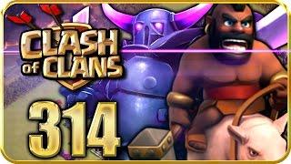 Let's Play CLASH of CLANS Part 314: MEIN CK-Angriff gegen Giant!