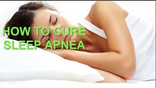 Natural Cure For Sleep Apnea - Start getting better sleep today!