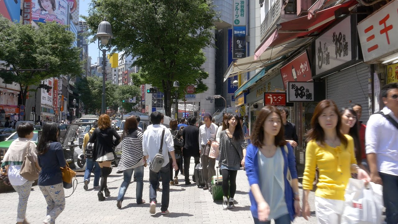 Balade à pieds dans Tokyo