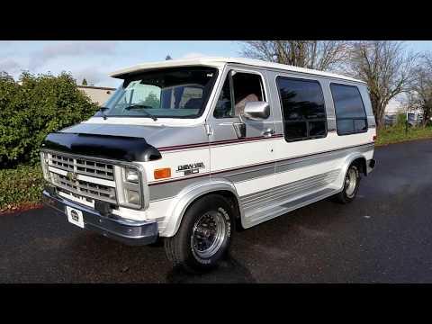 1988 Chevrolet Van G20 Conversion