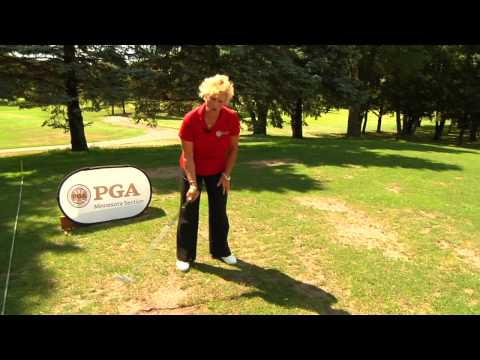 Professional Golf Tip: Power Drill for Women (Hinging)