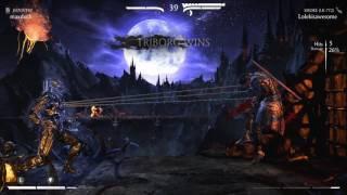 Mortal Kombat XL PC footage (Triborg Smoke Quick Gameplay)