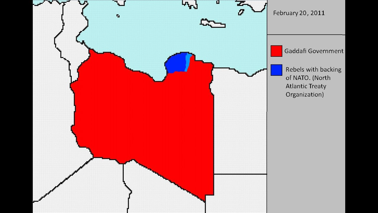 The First Libyan Civil War of 2011: Every Day