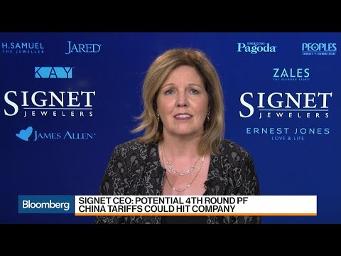 Signet CEO Says Fourth Round Of China Tariffs Could Hurt Business