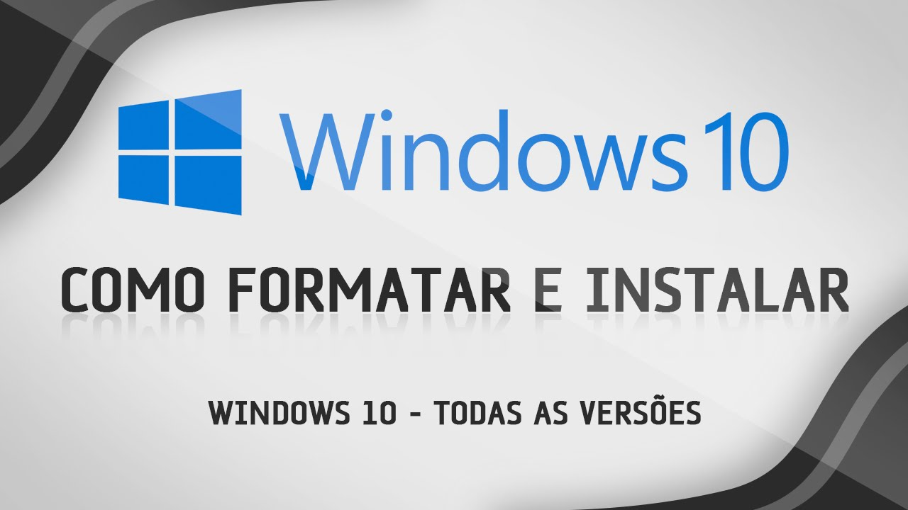 video aula como formatar e instalar windows 7