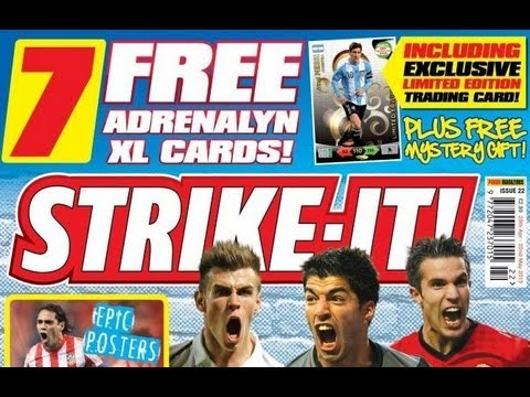 MESSI LIMITED EDITION | Opening Strike It Magazine | panini adrenalyn xl ROAD TO WORLD CUP 2014 TCG