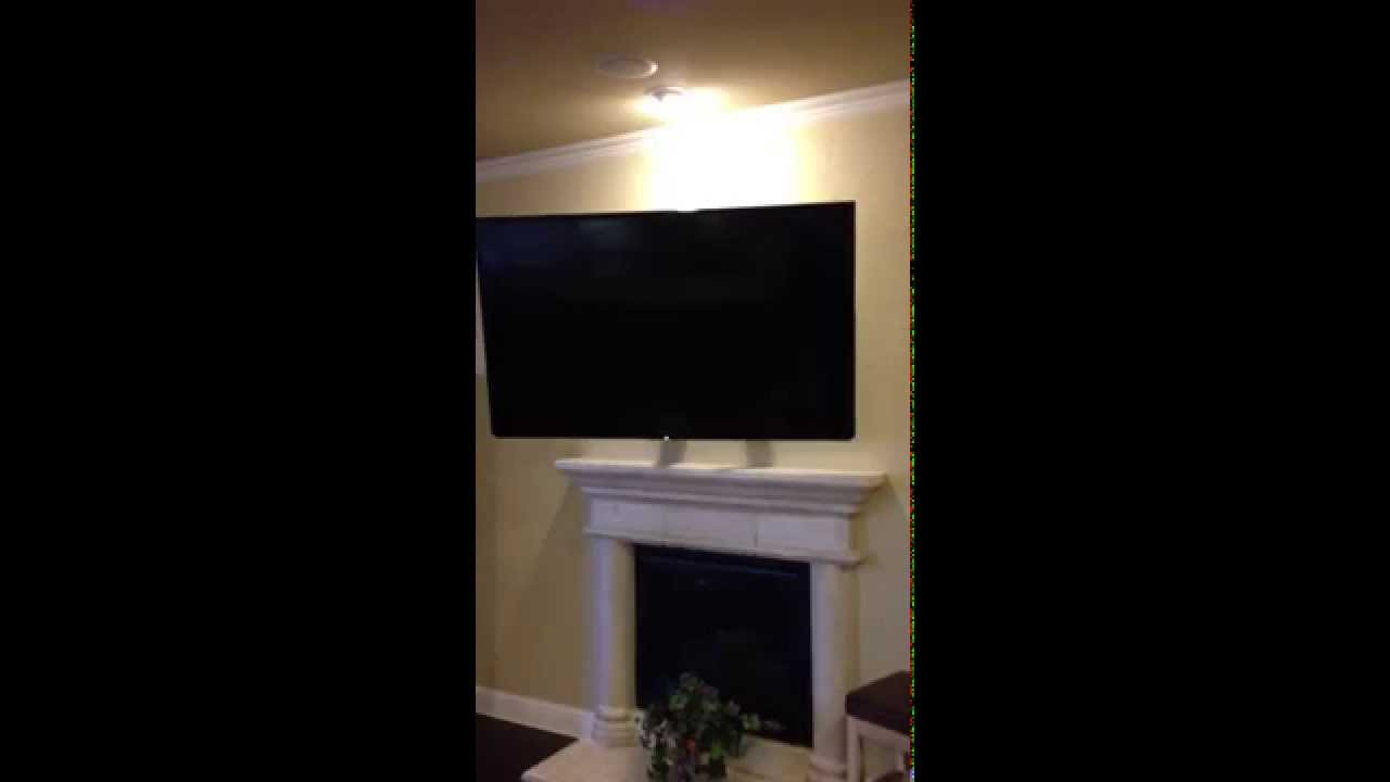 Ultimate automated tv mount youtube for Chief motorized tv mount